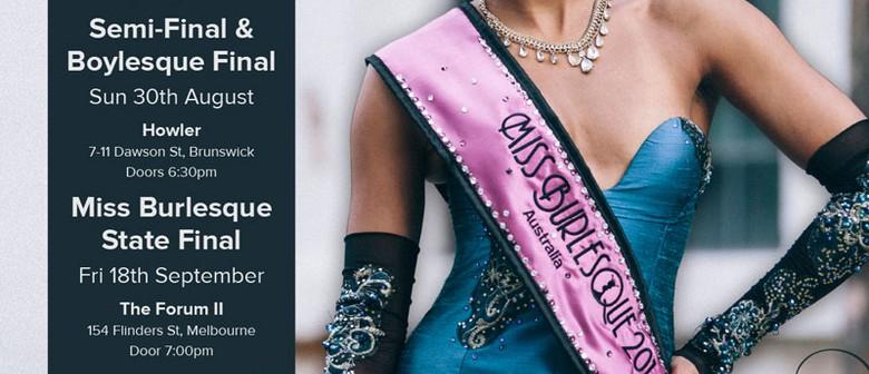 Miss Burlesque Victoria 2015 Semi-Final