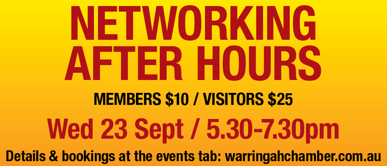 Networking After Hours