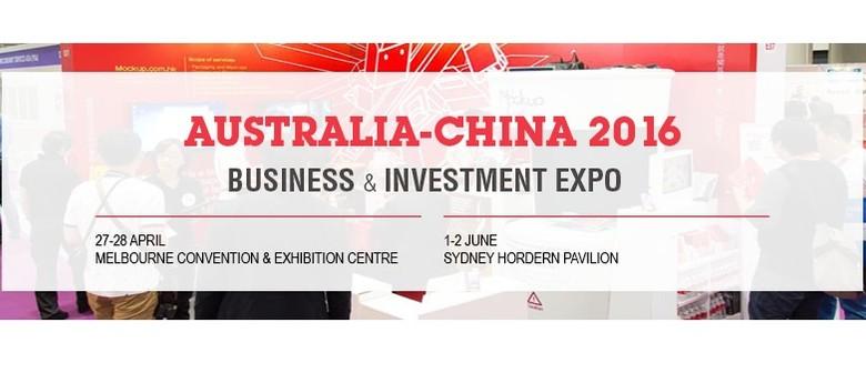 Australia-China 2016 Business & Investment Expo