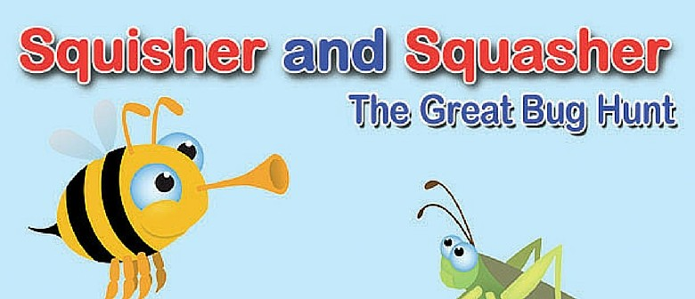Squisher And Squasher: the Great Bug Hunt