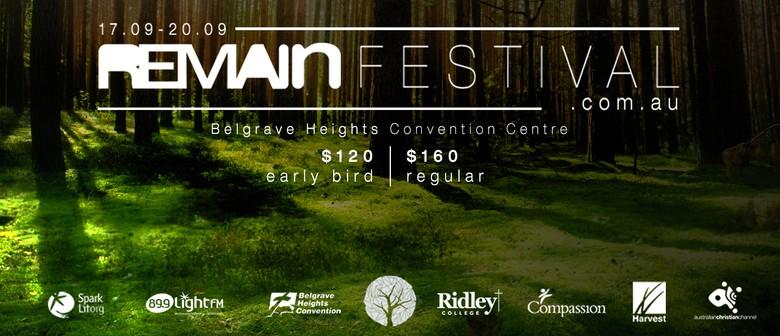 Remain Festival