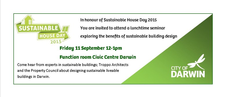 Sustainable House Day Lunchtime Forum