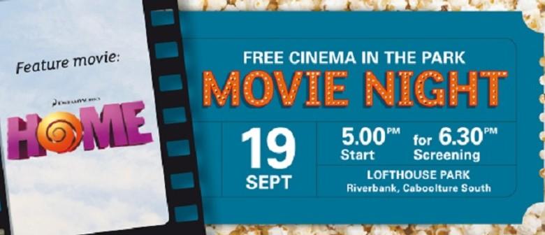 Riverbank Movie Night – Home