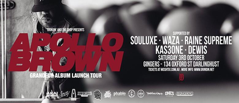 Apollo Brown - Grandeur Sydney Show