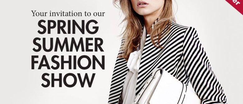 Spring Summer Fashion Show - Over 55's