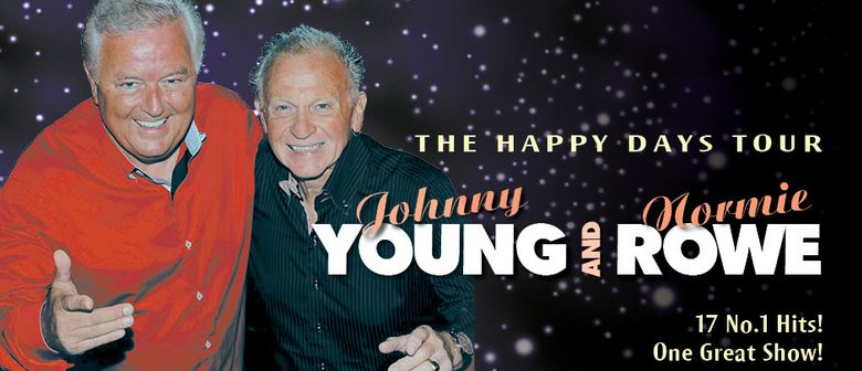 Johnny Young & Normie Rowe - The Happy Days Tour