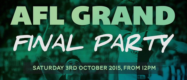 AFL Grand Final Day Party!