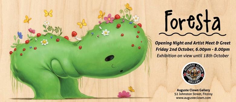 Foresta - Solo Exhibition By Cuddly Rigor Mortis
