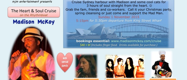 The Heart & Soul Harbour Cruise