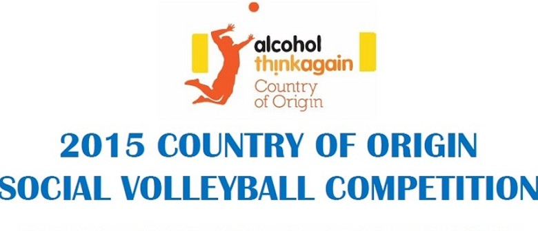 Alcohol.Think Again Country Of Origin Social Volleyball