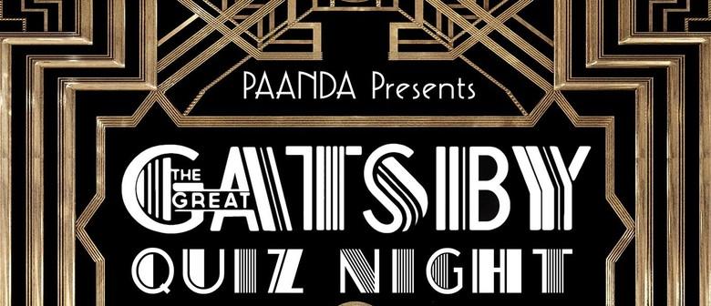 Great Gatsby Quiz Night