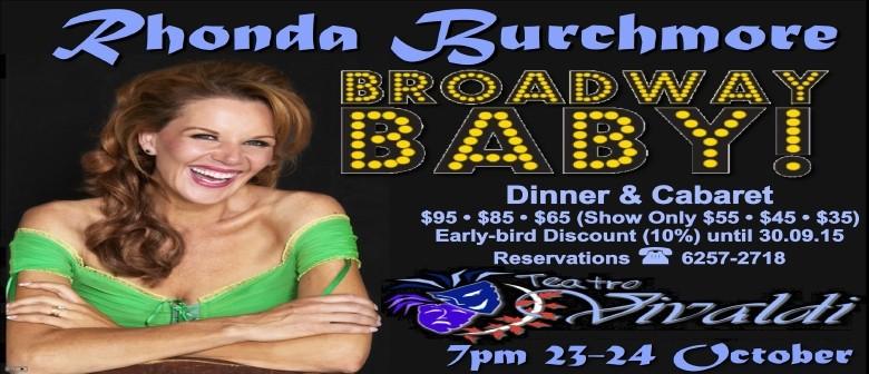 Rhonda Burchmore In Cabaret