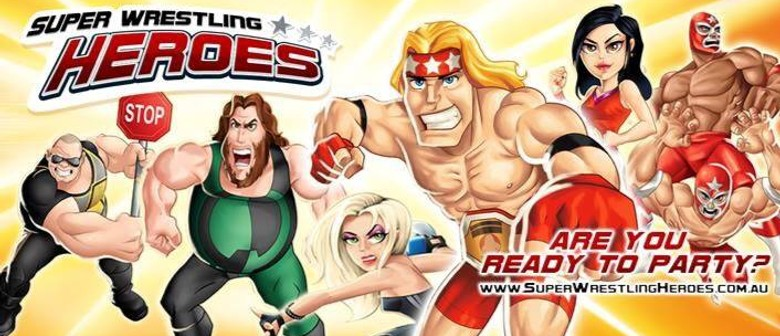 Super Wrestling Heroes Disco Party
