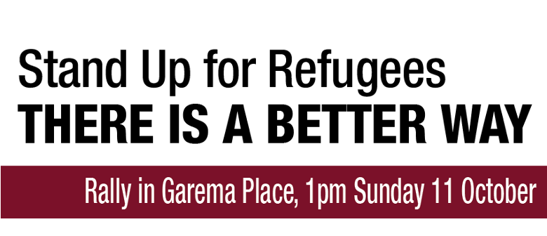 Stand Up For Refugees Rally