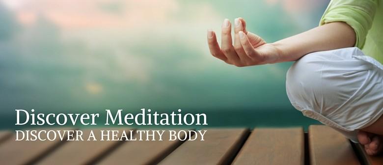 Discover Meditation 3 Part Course