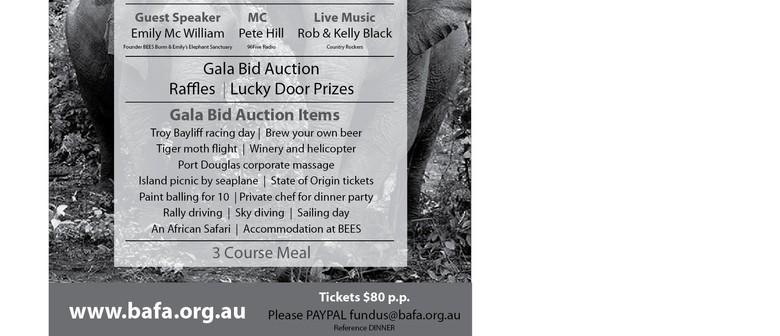 BEEES Animal Foundation Australia Fundraising Dinner