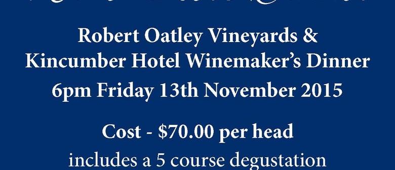 Robert Oatley Vineyards Winemaker's Dinner