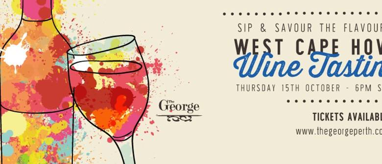 West Cape Howe Wine Tasting