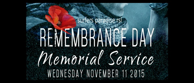 Remembrance Day Service 2015