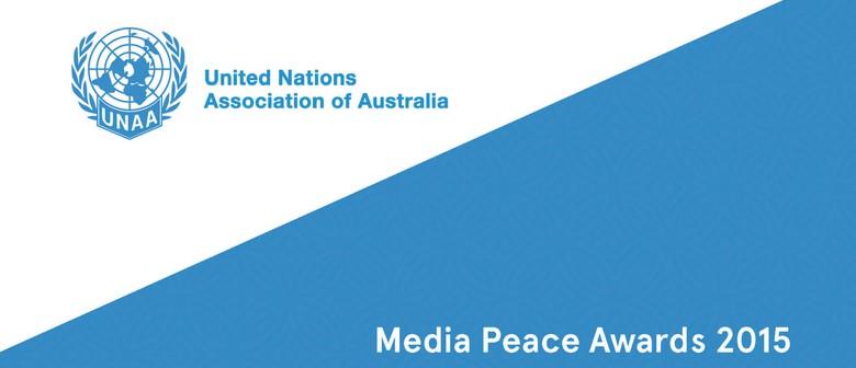 UNAA Media Peace Awards Presentation Dinner 2015