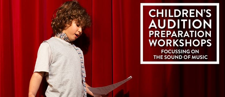 Children's Audition Prep Workshop Focusing On Sound Of Music