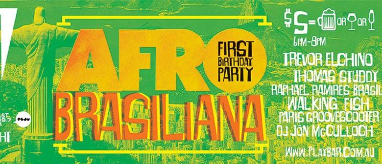 Afrobrasiliana - First Birthday Party