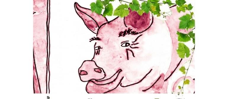Wine. Swine. Melbourne.