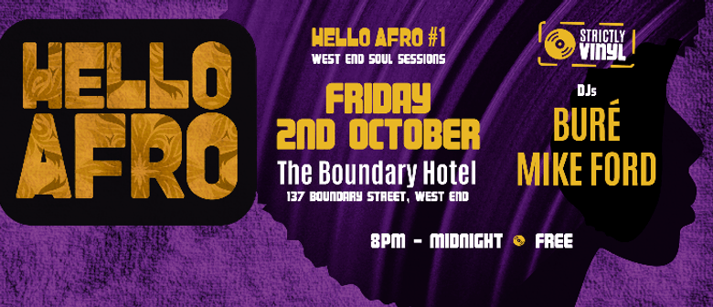 Hello Afro: West End Soul Sessions