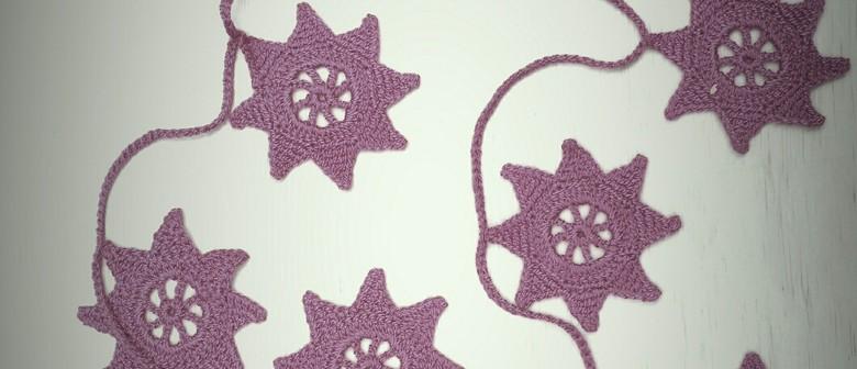Crochet Christmas Star Decoration Workshop