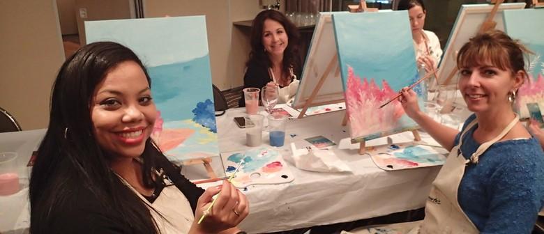 Social Art Classes! Come And Paint With Cabernet & Canvas