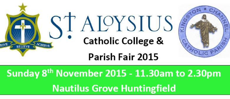 St Aloysius Catholic College & Parish Fair 2015