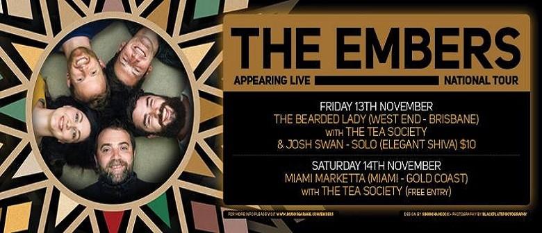 The Embers With The Tea Society & Josh Swan