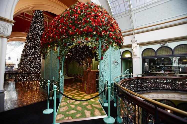 Qvb Welcomes Santa To His New Enchanted Garden Home Sydney Eventfinda