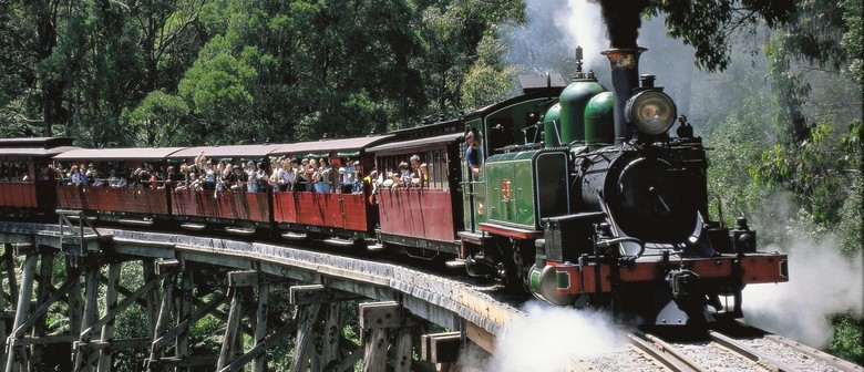 Puffing Billy Steam Train Day Tour