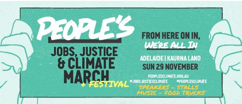 People's Jobs, Justice & Climate March