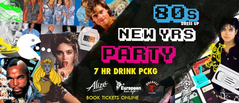NYE 80s Dress Up Party