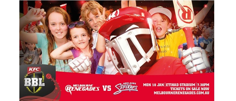 KFC Big Bash League – Melb Renegades Vs Adelaide Strikers