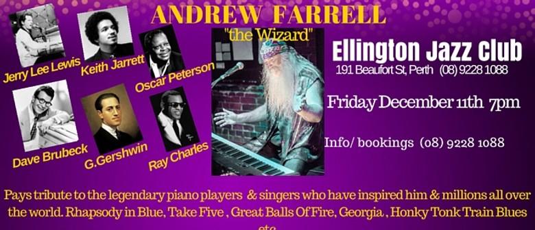 Andrew Farrell - The Wizard -  Piano Greats