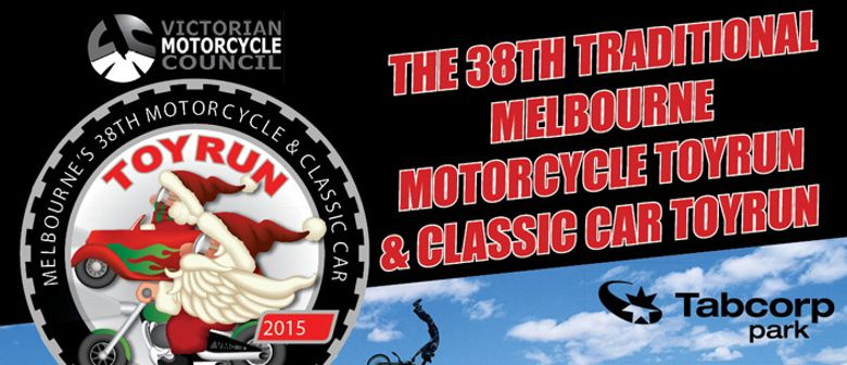 The Traditional Melbourne Motorcycle & Classic Car Toy Run