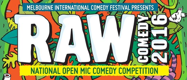 RAW Comedy 2016 - Melbourne Preliminary
