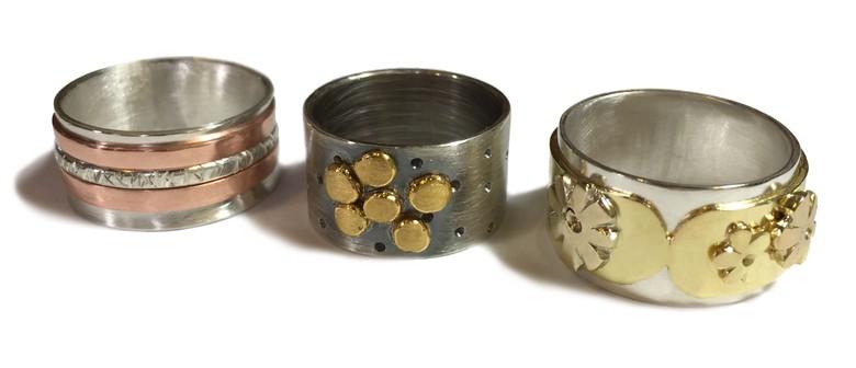 Beginner/Intermediate Silver Jewellery Making Classes