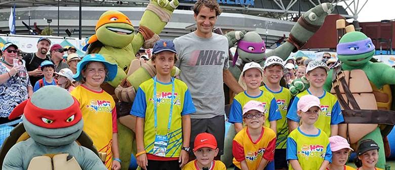 Brisbane International's Suncorp Kids Tennis Day