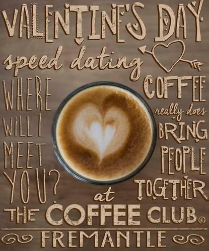 Coffee club speed dating record 6