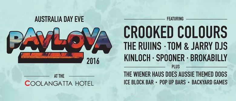 Pavlova 2016 Aus Day Eve
