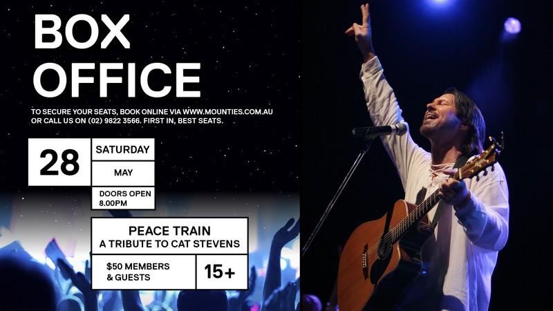 Cat Stevens Sydney Tickets