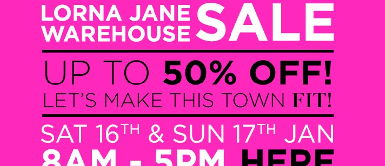 b5b845d461 Lorna Jane Warehouse Sale - Gold Coast - Eventfinda
