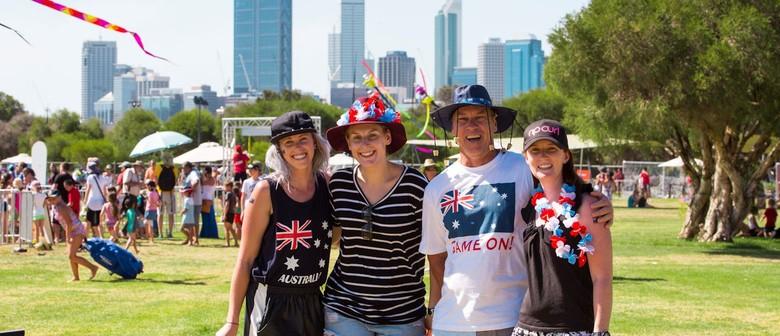 City Of Perth Australia Day Skyworks