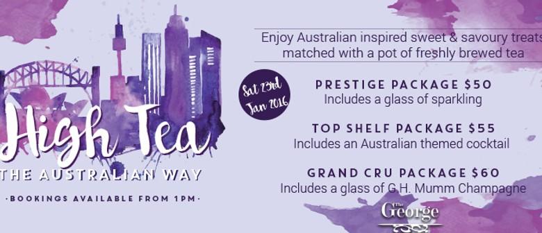 High Tea The Australian Way