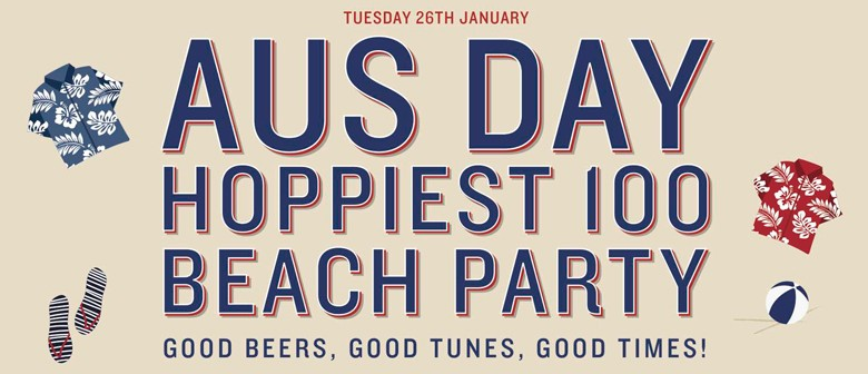 Australia Day Hottest 100 Beach Party