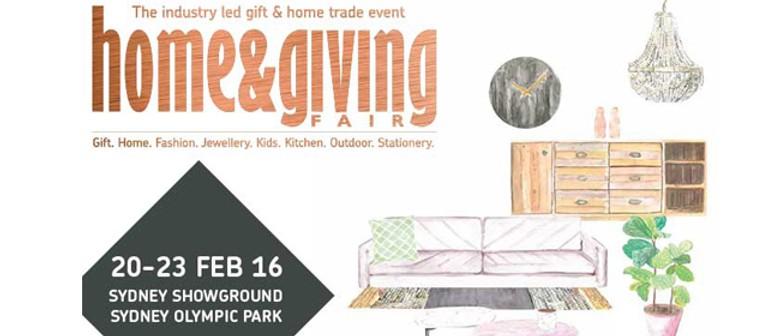 Sydney 2016 Home & Giving Fair